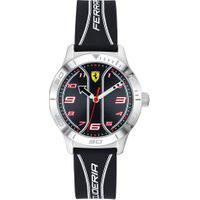 Relógio Scuderia Ferrari Infantil Borracha Preta - 810024