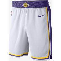 Shorts Nike Los Angeles Lakers Association Edition Swingman Masculino