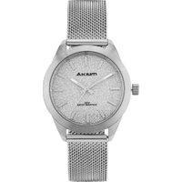 Relógio Akium Feminino Aço - Tml6982N1 - Silver