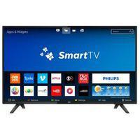 Smart Tv Led 43 Polegadas Philips 43Pfg5813/78 Full Hd Wi-Fi 2 Hdmi 2 Usb 60Hz Preto Bivolt