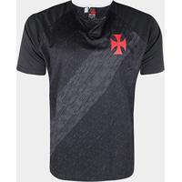 Camiseta Vasco Braziline Versa Masculina - Masculino