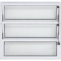Vitro Basculante De Alumínio 60X60 Branco - 40003 - Esquadriart - Esquadriart