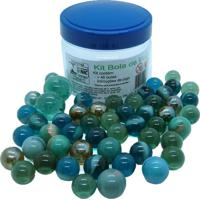 Kit De Bola De Gude Kits For Kids Pote Multicolorido