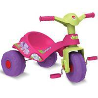 Triciclo Mototico Com Função Andador E Pedal Rosa - Bandeirante