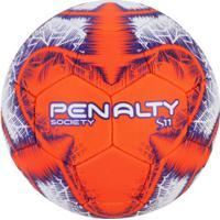 feb3a56ba7 Bola Society Penalty S11 R5 Ix - Branco Laranja