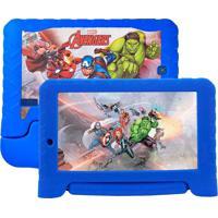 "Tablet Multilaser Marvel Vingadores 7"" Nb280 Azul"