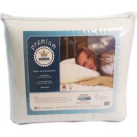 Travesseiro Látex De Poliuretano Antialérgico Premium Cestari 1 Peça
