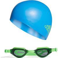 7a7713ced Netshoes  Kit Óculos + Touca Adidas Infantil Natação - Unissex