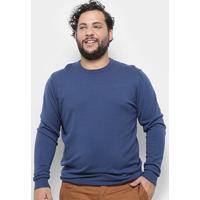 Blusa Tricô Delkor Plus Size Masculina - Masculino