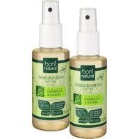 Kit 2 Desodorantes Spray Boni Natural Melaleuca E Toranja 120Ml - Kanui