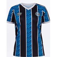 Camisa Grêmio I 20/21 S/N° Estádio Umbro Feminina - Feminino