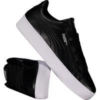 Tênis Puma Vikky Platform Ribbon Feminino Black