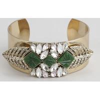 Bracelete Com Pingente Dourado - Único