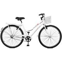 Bicicleta Master Bike Aro 26 Feminina Kamilla Manual Branco