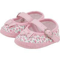 Sapato Pimpolho Infantil Baby Rosa