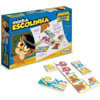 Jogo Domino Divisão Silábica Minha Escolinha Xalingo