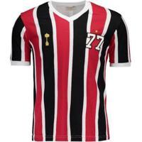 Camisa São Paulo Away Retrô 1977 - Masculino