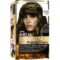 Tintura Capilar Imed Excellence Fashion Paris 6.170 Bronde Rock