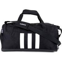 Bolsa Adidas 3S Duffel Pequena - Unissex-Preto+Branco