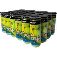 Bola De Tênis Dunlop Championship - Caixa Com 24 Tubos - Unissex