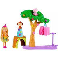 Boneca Barbie Dreamhouse Adventures Chelsea Festa Na Selva