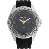 Relógio Speedo 60069G0Evnu2 Urbano Preto/Prata