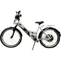 Bicicleta Elétrica Duos Confort Full 800W 48V 15Ah Cor Branca