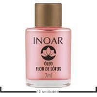 Óleo Finalizador Inoar Résistance Flor De Lótus 12X 7Ml - Unissex-Incolor