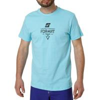 Camiseta Manga Curta Masculina Federal Art Azul Claro