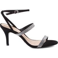 Sandália Três Tiras Black | Schutz