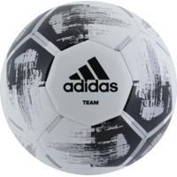 Bola De Futebol De Campo Adidas Team Glider - Branco/Preto