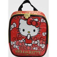 Lancheira Hello Kitty Bow Xeryus (Vermelho, Único)