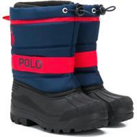Ralph Lauren Kids Bota Para Neve Polo - Azul