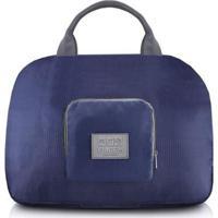 Bolsa De Viagem Jacki Design Dobrável De Poliéster - Unissex-Azul