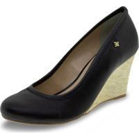 Sapato Feminino Anabela Cravo & Canela - 158001 Preto 35