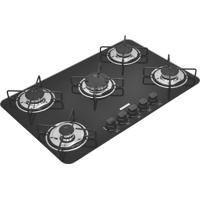 Cooktop Em Vidro Temperado Com 5 Queimadores Standard Bivolt Preto - Tramontina