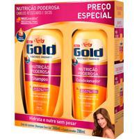 Shampoo + Condicionador Niely Gold Nutrição Poderosa Com 300Ml+200Ml Preço Especial