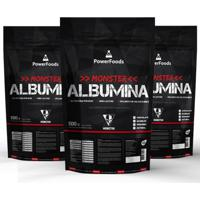 Monster Albumina - 1500G - Powerfoods Multicolorido