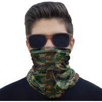 Máscara Bandana Camuflada Militar Proteção Pesca Moto