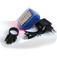 Ciclovia Virtual Laser Recarregável Ge-Lj700