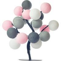 Árvore De Luz Copenhagem Cormilu Rosa