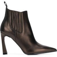 Karl Lagerfeld Bota Veneto Ankle Gore - Preto