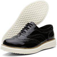 Sapato Casual Oxford Yes Basic 300 Verniz Preto