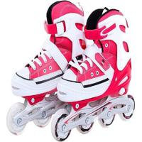 Patins Bel Sports All Style Street Rollers - Unissex-Vermelho