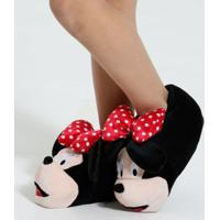 Pantufa Infantil Minnie Disney