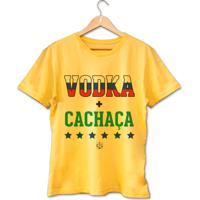 Camiseta Vodka + Cachaça • Prccla