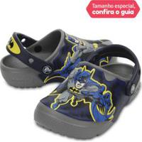 Crocs Infantil Funlab Batman Cinza Smoke - 24