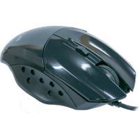 Mouse Óptico Gamer Evus Precision Preto Usb 1.600Dpi Modelo Mg-05