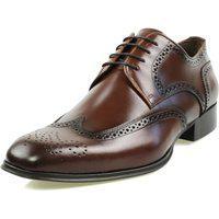 Sapato Social Oxford Classico Couro 15001 Whisky