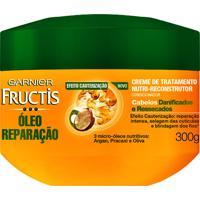 Creme De Tratamento Fructis Óleo E Reparação 300G
